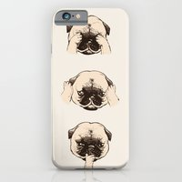 No Evil Pug  iPhone 6 Slim Case