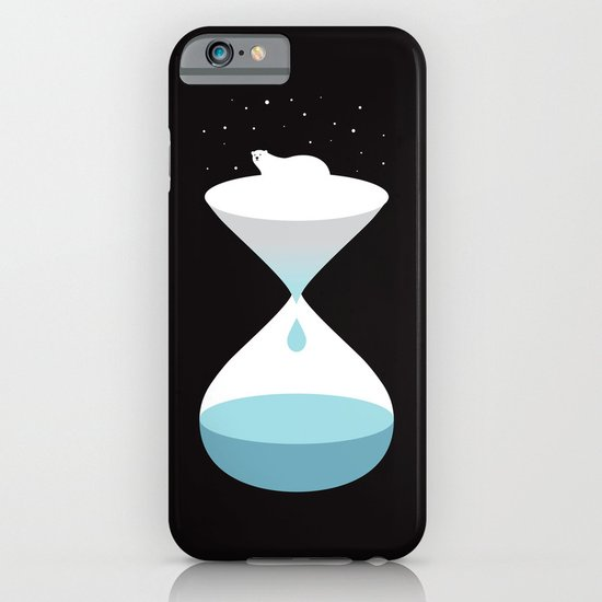 terminally ill polar bear iPhone & iPod Case
