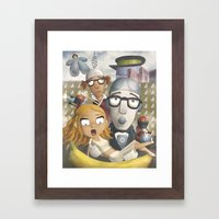 Sleeper Framed Art Print
