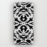 Arrow Tribe Black & Whit… iPhone & iPod Skin