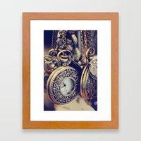 Time gone by Framed Art Print