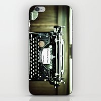 You don't write anymore... iPhone & iPod Skin