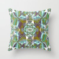 Luminous. Throw Pillow