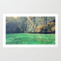a little touch of paradise Art Print