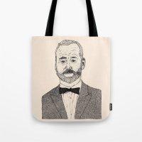 Bill Murray Portrait Tote Bag