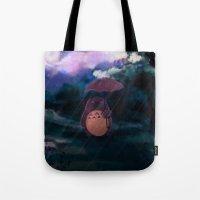 Totoro II Tote Bag