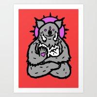 Spirit Koala Art Print
