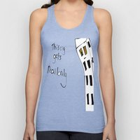 This City Gets Real Lonely Unisex Tank Top
