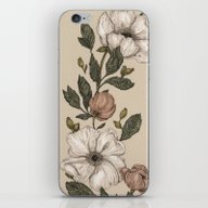 Floral Laurel iPhone & iPod Skin