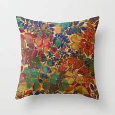 Love Of Leaves Throw Pillow
