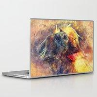 monkey Laptop & iPad Skins featuring Monkey by jbjart