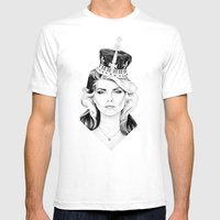 Debbie Harry Mens Fitted Tee White SMALL