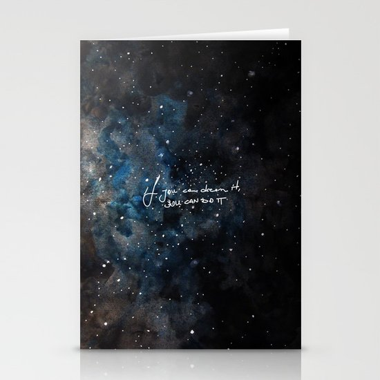 You can do it Stationery Card