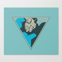 Gundam (by felixx.2 0 1 6) Canvas Print