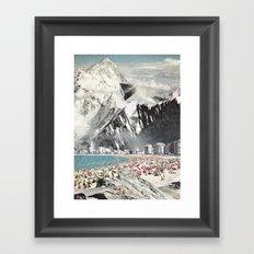 magnetic winter Framed Art Print