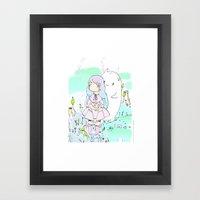 Le Ciel Framed Art Print