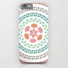 Retro floral circle 2 Slim Case iPhone 6s