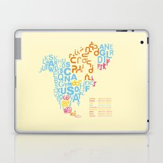 North America ~ Writing Sistems Laptop & iPad Skin