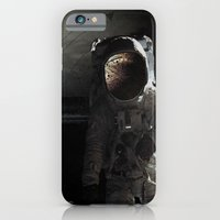 Sad story about a chimp in space iPhone 6 Slim Case