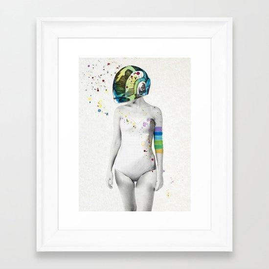Robot Rock #2 Framed Art Print