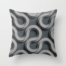 Abstract V-2 Throw Pillow