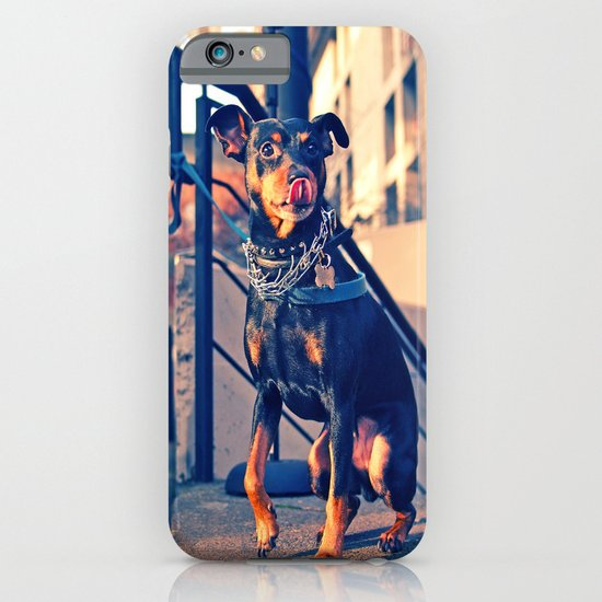 Little tough guy iPhone & iPod Case