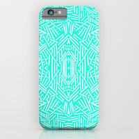 Radiate (Mint) iPhone 6 Slim Case