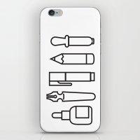 CREATIVE TOOLS / Geometr… iPhone & iPod Skin