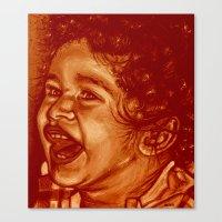 lizandro-red! Canvas Print