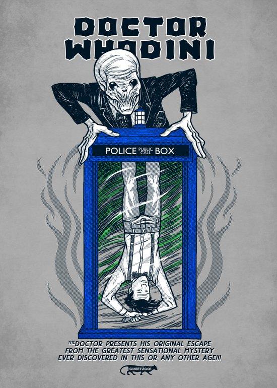 Doctor Whodini Canvas Print