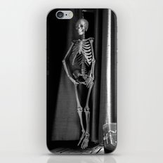 The Skeleton by the Printer iPhone & iPod Skin