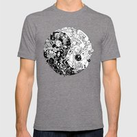 Sid-Sang Mens Fitted Tee Tri-Grey SMALL