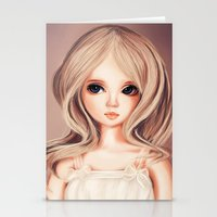 Doll-like Stationery Cards