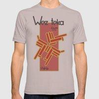 Paka - Wezteka Union - 1 of 3 Mens Fitted Tee Cinder SMALL