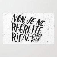 Edith Piaf Rug