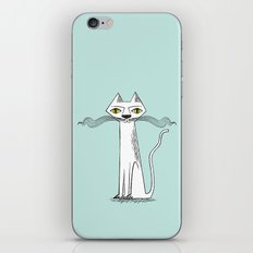 The Cat's Whiskers iPhone & iPod Skin