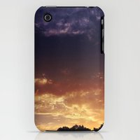 iPhone Cases featuring Purple & Orange Sunset by Ms Letha Moon