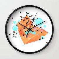Cascade. Wall Clock