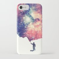 hipster iPhone & iPod Cases featuring Painting the universe by badbugs_art
