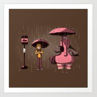 My Imaginary Friend Art Print
