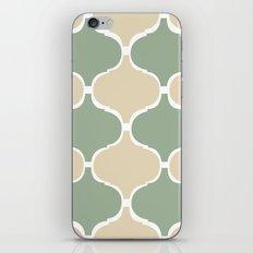 MARRAKECH Sand Green iPhone & iPod Skin