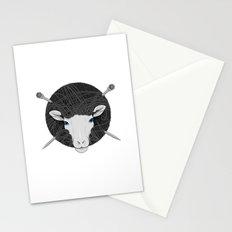 Woollen Head (Sheep & Cross Needles) Stationery Cards