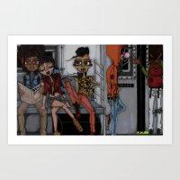 Tha Bronx 1 Art Print