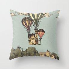 Steam UP Throw Pillow