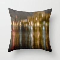 Let The Music Play On Throw Pillow
