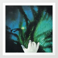 Mano Invisible... Art Print