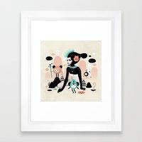 Kobana - Muxxi X Ruben I… Framed Art Print