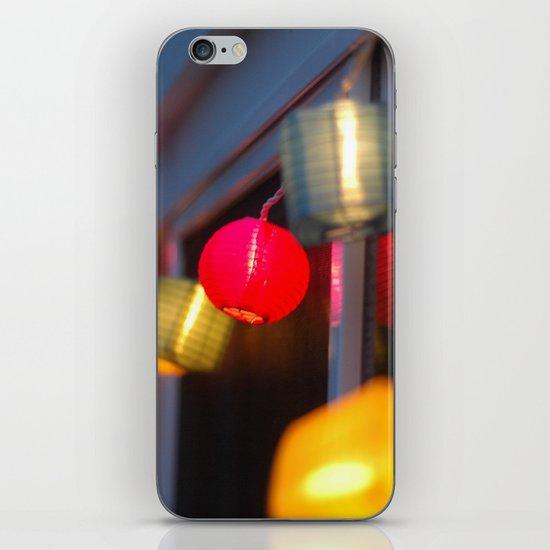 Paper Lanterns iPhone & iPod Skin
