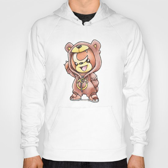 Bear-ly Noticeable Hoody