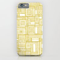 Golden Doodle patchwork iPhone 6 Slim Case